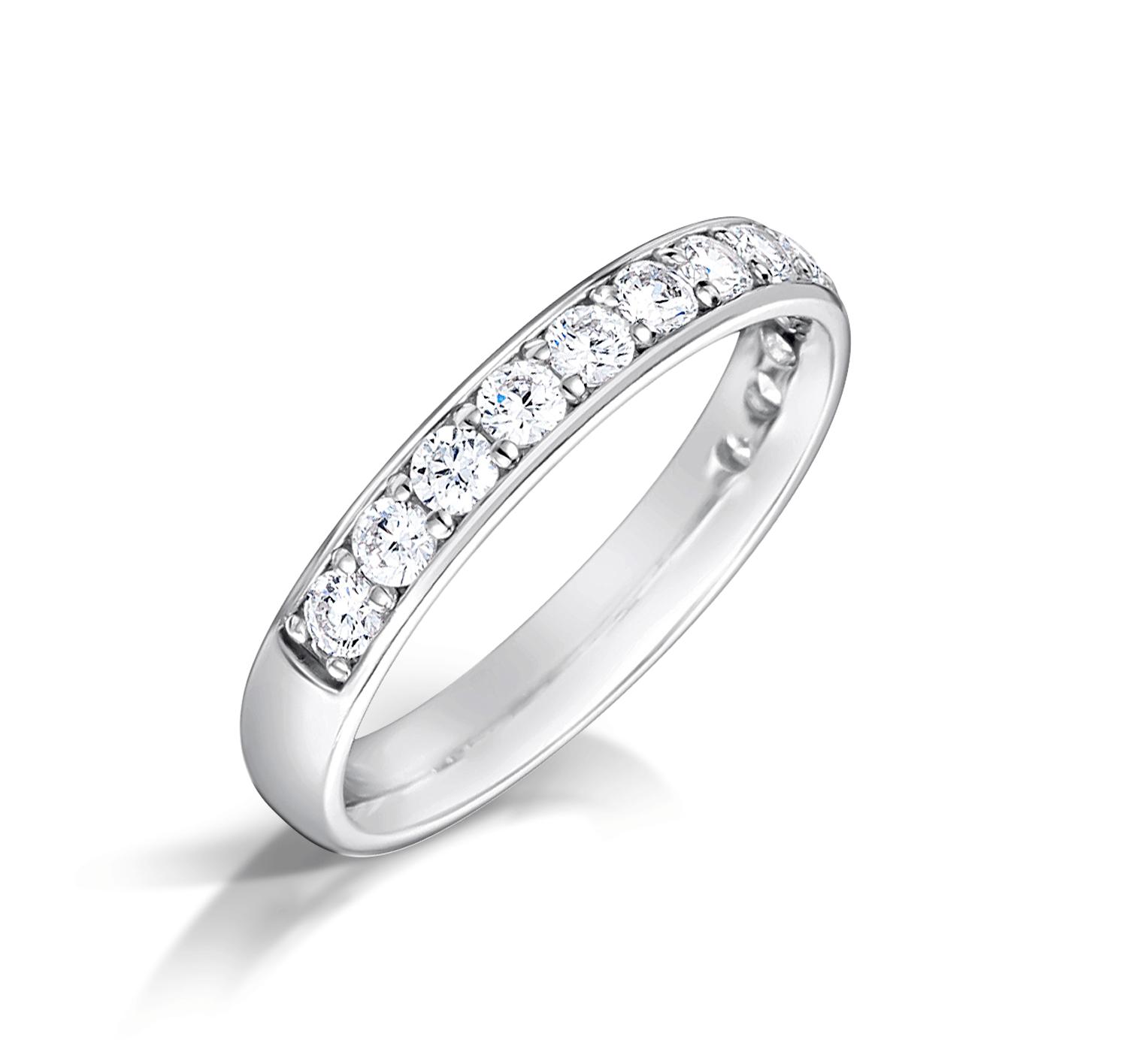 Blue Mountain Diamond Wedding Ring Maliere